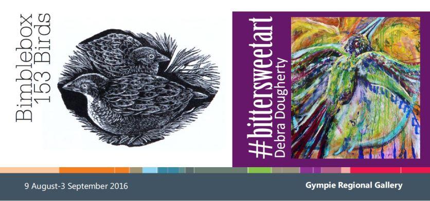 153 Bidrs project - Gympie Regional Gallery side 1