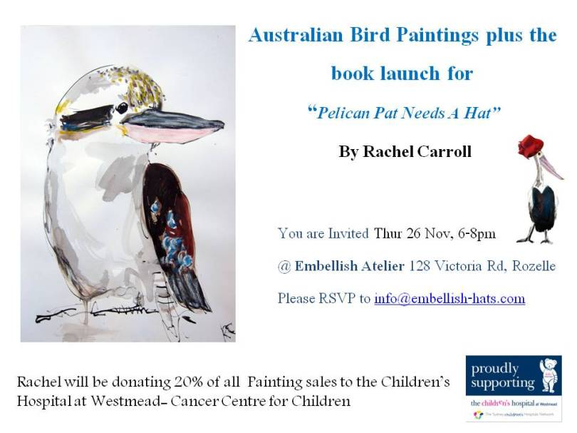 Invite to Embellish Atelier for Rachel Carroll 1
