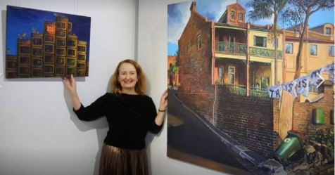 Jane Bennett Artist @ Link Housing Show